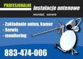 Anteny Nowogard,montaż serwis regulacja