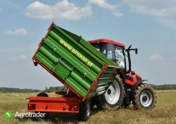 przyczepa rolnicza jednoosiowa Pronar T 654/2 - zdjęcie 3
