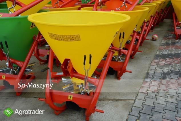 Rozsiewacz do nawozów Lejek 300 - 500 litrów 6-łopatek Transport  - zdjęcie 2