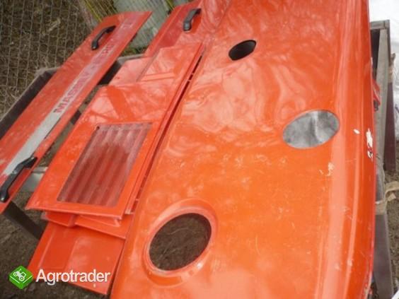 Osłona,maska silnika Massey Ferguson 3080,3085,3090,3095,3115,3125 - zdjęcie 4