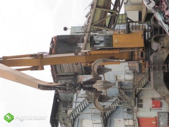 Koparka przemyslowa LIEBHERR  A 954 z chwytakiem do zlomu - zdjęcie 3