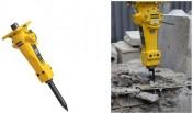 Młot hydrauliczny Epiroc Atlas Copco SB102 do minikoparki 1,5 - 3 tony