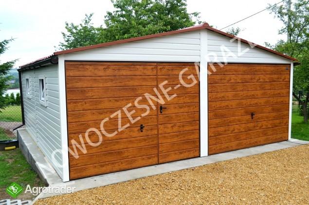 Garaż drewnopodobny przetłoczenia w poziomie CAŁA POLSKA! - zdjęcie 5