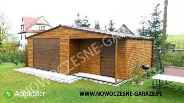 Garaż drewnopodobny przetłoczenia w poziomie CAŁA POLSKA! - zdjęcie 7