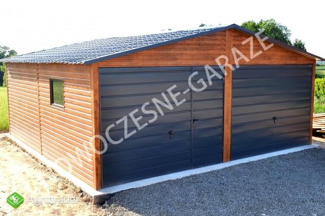 Garaż drewnopodobny przetłoczenia w poziomie CAŁA POLSKA! - zdjęcie 2