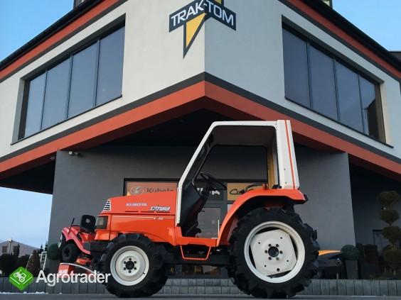 Traktorek KUBOTA SATURN X-20 Kabina 4x4 20 KM wspomaganie - zdjęcie 1