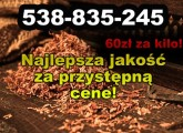 Tytoń papierosowy do nabijania w gilzy 60zł/kg