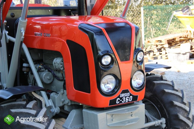 Maska ciągnikowa C-360 C360 maski do ciągnika Ursus model 03 NOWOŚĆ - zdjęcie 6