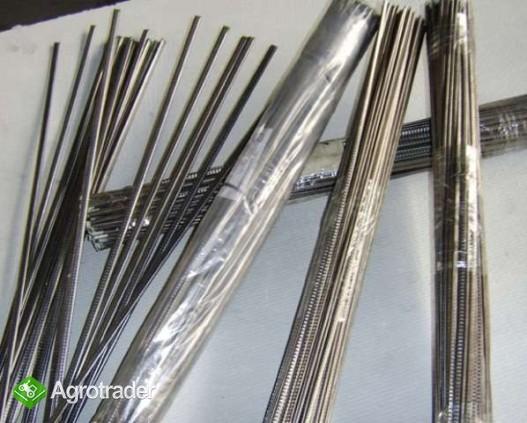 Elektrody do odpornośći na ścieranie, erozję, ścinanie, udarność .