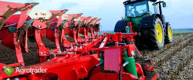 Pług obracalny półzawieszany resor resorowy GIANT Agro-Masz pługi - zdjęcie 1
