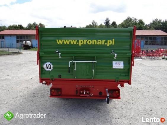 Przyczepa rolnicza 5 t jednoosiowa PRONAR T654/2 - zdjęcie 3