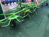 Przetrząsacz karuzelowy 4 wirnikowy KOWALSKI przetrząsarka szer. 5,3 m