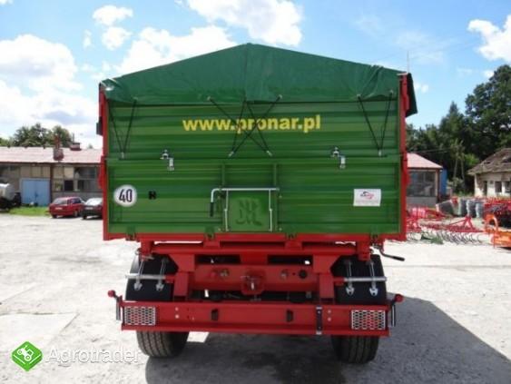 Przyczepa rolnicza 10 t paletowa PRONAR PT610 - zdjęcie 3