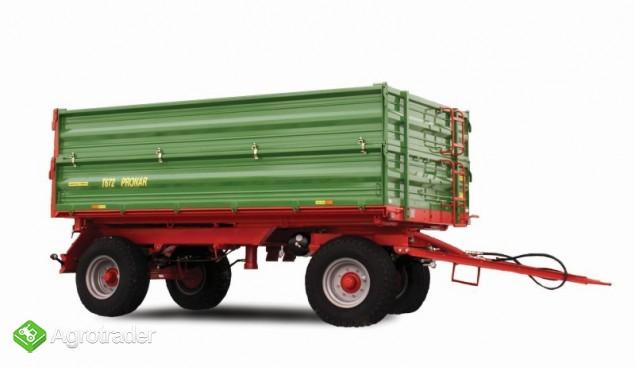 Przyczepa Rolnicza Pronar T672- 8T - zdjęcie 1