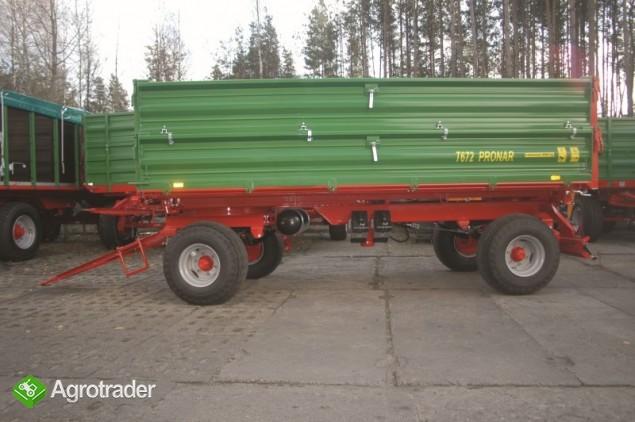 Przyczepa Rolnicza Pronar T672- 8T - zdjęcie 2