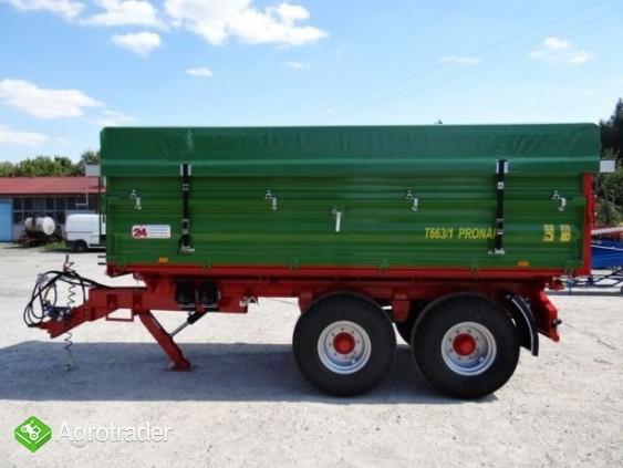 Przyczepa rolnicza tandem TRANSPORT 10T PRONAR T663/1 - zdjęcie 3