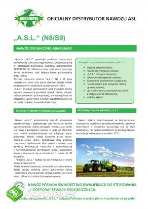 Sprzedam nawozy ekologiczne ASL/Flora/Humus
