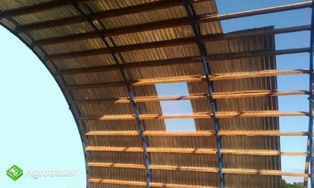 HALA łukowa tunelowa magazynowa hangar 11,8 x 20 - zdjęcie 7