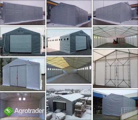 Hala namiotowa całoroczna 5×6 × 2,5m/3,41m wiata garaż solidny - zdjęcie 4