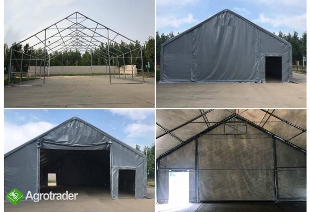 Hala namiotowa całoroczna 5×6 × 2,5m/3,41m wiata garaż solidny - zdjęcie 5