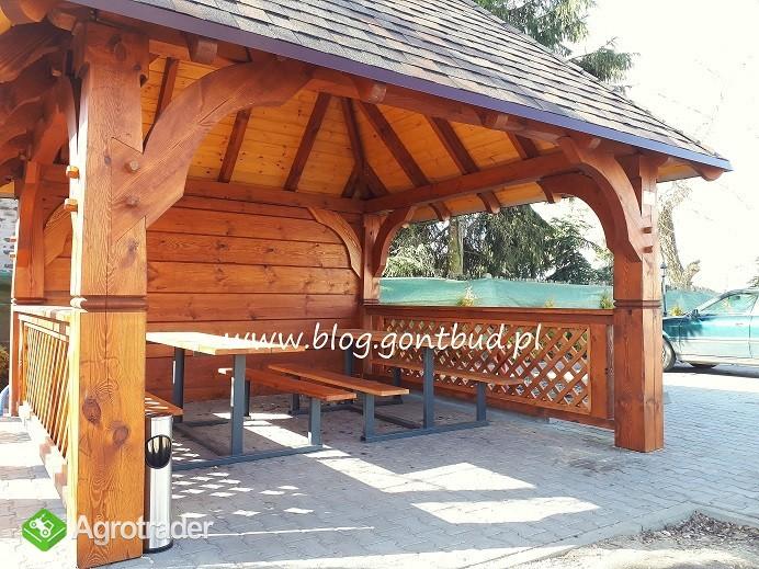 Altankaścianygonty Wiaty Drewniane Garaż Altana