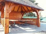 altanka+ściany+gonty ( wiaty drewniane garaż altana ) gontbud.pl
