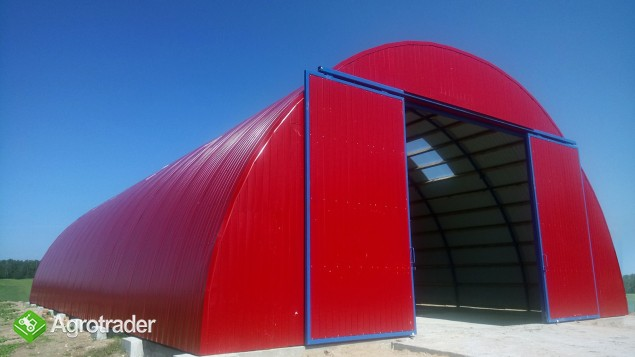 HALA stalowa łukowa hangar magazynowy 10,8 x 50 - zdjęcie 1