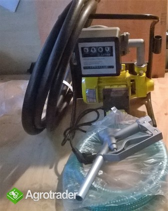 Pompa  DP40L z licznikiem i aluminiowym pistoletem  - zdjęcie 1