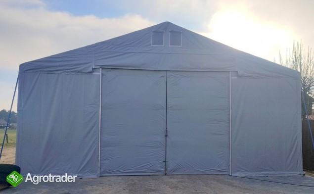 Całoroczna Hala namiotowa 5m × 12m × 2,5m/3,41m - zdjęcie 4