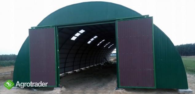 HALA ŁUKOWA tunel rolniczy ciągnik wiata 10,8 x25 - zdjęcie 4
