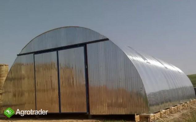 HALA łukowa tunelowa magazyn garaż wiata 11,8 x 35 - zdjęcie 6