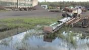 Taśmociąg czeski-napęd na motoreduktor.