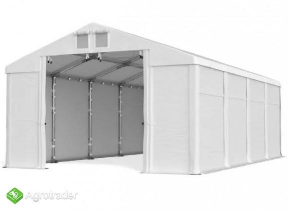 Magazyn CAŁOROCZNA HALA NAMIOTOWA 5m × 14m × 2,5m/3,41m - zdjęcie 3