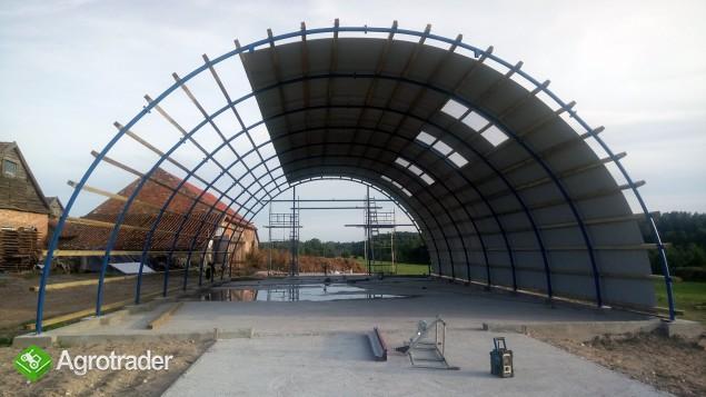 HALA stalowa łukowa tunelowa magazynowy 10,8 x 70 - zdjęcie 3