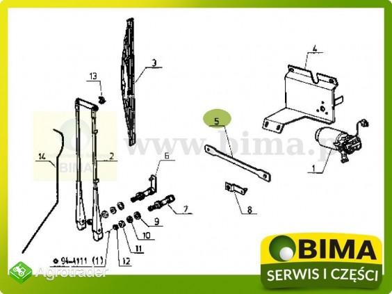 Łącznik wycieraczek Renault CLAAS 85-12,80-14,85-14