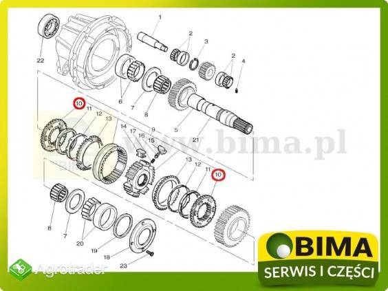 Nakładka koła rewers synchronizator Massey Ferguson 6190 - zdjęcie 1