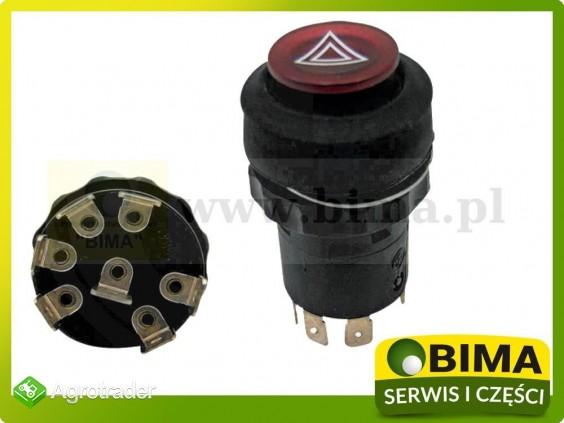 Włącznik przycisk świateł awaryjnych John Deere 4500