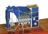 Separator aerodynamiczny SAD 10 z cyklonem, wialnia, czyszczalnia