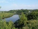 Ukraina.Staw rybny w malowniczej miescowosci.Tanio