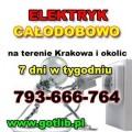 Elektryczne Usługi Kraków 793-666-764
