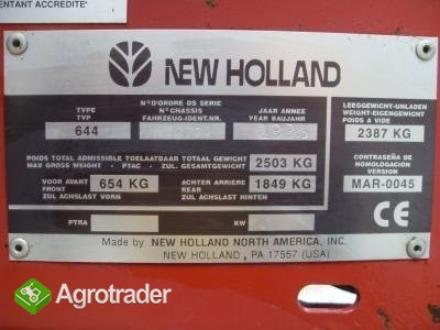 new holland 644 siatka sznurek - zdjęcie 3