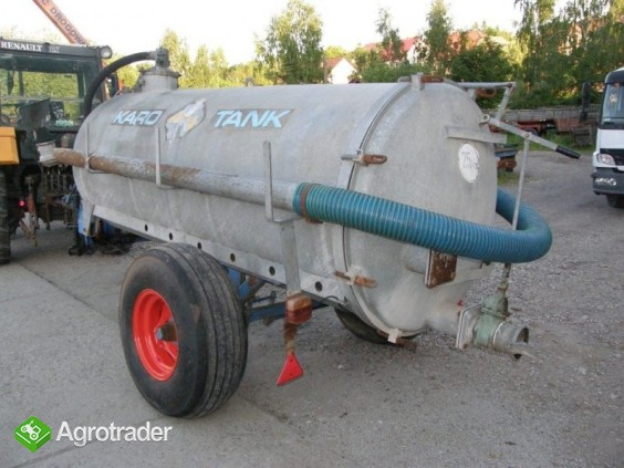 Beczka asenizacyjna pojemność 4000 litrów, - zdjęcie 2