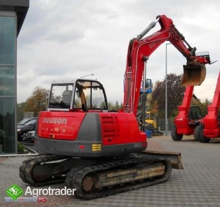 Neuson 12002 RD 12 ton koparka cat jcb - zdjęcie 1