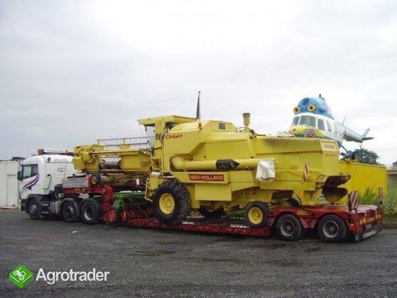 Kombajny,traktory  transport specjalny 600812813 - zdjęcie 1